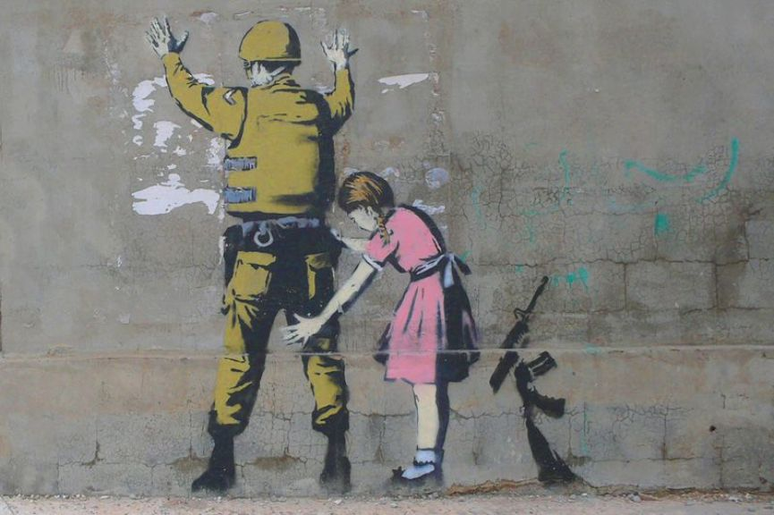 http://www.banksy.co.uk/ より