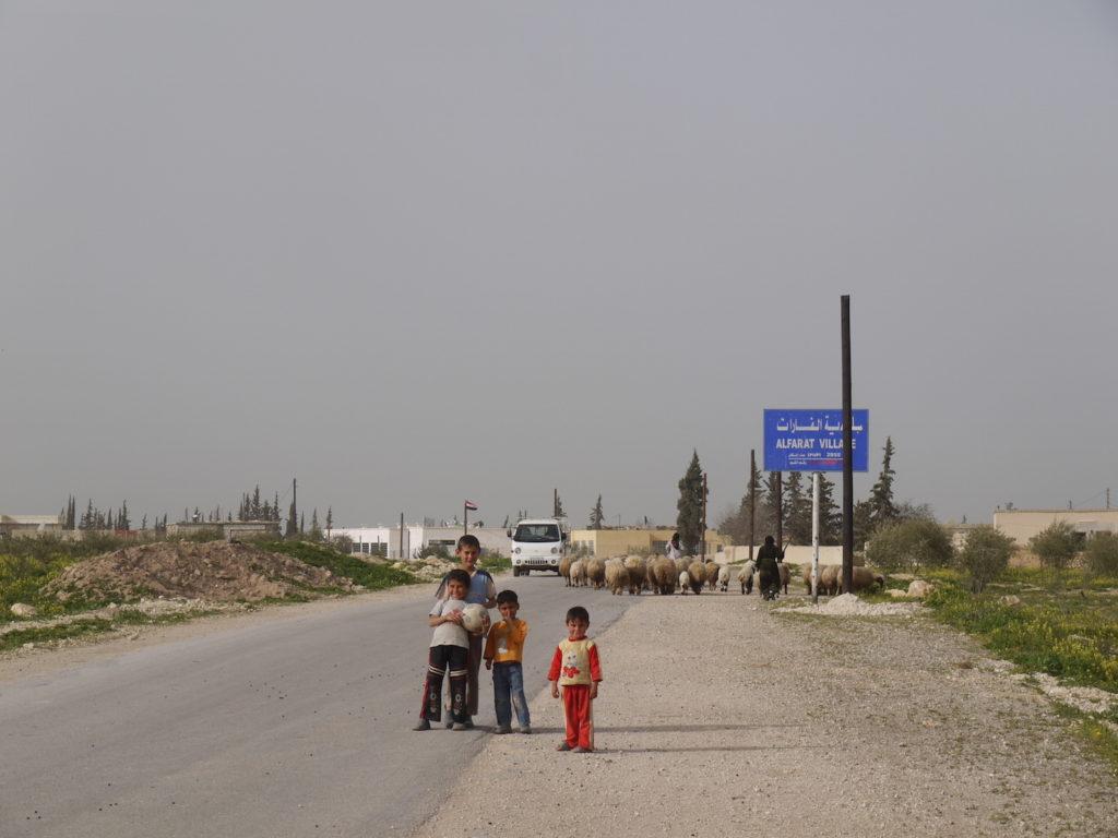 僕のシリアの故郷であるアルファラット村。